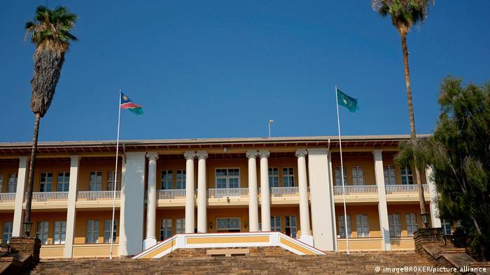Der Tintenpalast in Windhuk ist Sitz des namibischen Parlaments
