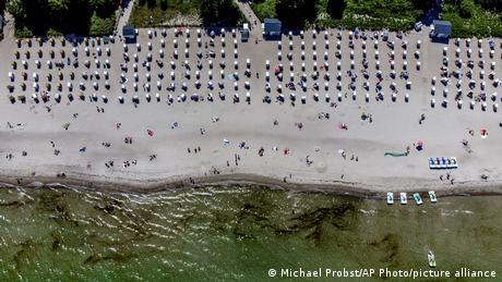 Τίμεντορφ, παραλία στη Βαλτική Θάλασσα