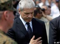 Boris Tadić u Srebrenici 2010.