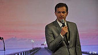 Steffen Möller auf Baltic Media Forum