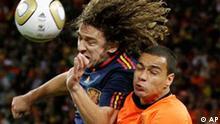 Fußball WM Finale Spanien Niederlande Weltmeisterschaft