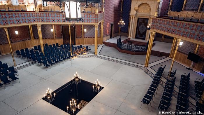 Ungarn I restaurierte Rumbach-Synagoge in Budapest eröffnet