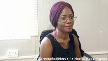 Merveille Noella Mada-Yayoro I Journalistin in Bangui in Zentralafrikanische Republik (ZAR). via Kossivi Tiassou, 09.06.2021
