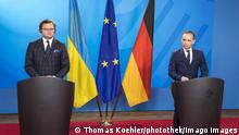 Deutschland I Heiko Maas trifft den Aussenminister der Ukraine, Dmytro Kuleba