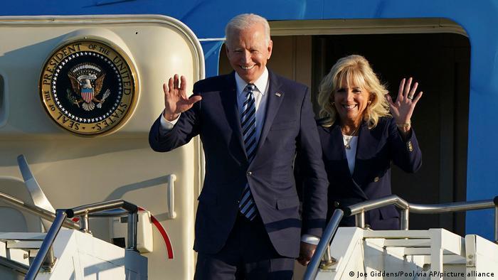 Президент США Джо Байден прибув до Європи