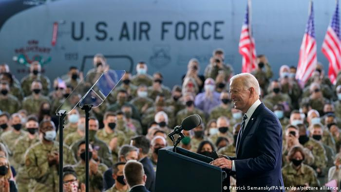 Großbritannien Vor dem G7-Gipfel in Cornwall - Joe Biden, Präsident der USA