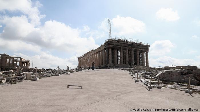 Griechenland Athen die archäologischen Stätten - Akropolis