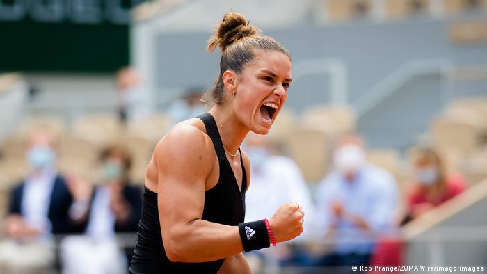 Tennis 2021 Roland Garros Grand Slam Maria Sakkari