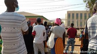Angola I Luanda I Flut in Krankenhaus