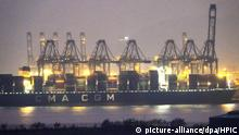 Photo shows the Yantian International Container Terminals in Shenzhen City, south China's Guangdong Province, 6 January 2021.