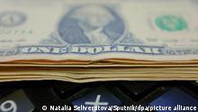 US Dollar-Banknoten