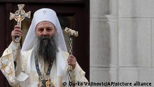 Serbien Der Patriarch Porfirije Perić
