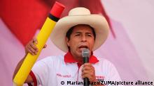 Pedro Castillo, Lima I Wahlen in Peru