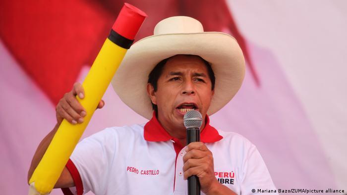 Pedro Castillo, de maestro rural a candidato de izquierda en Perú | Las  noticias y análisis más importantes en América Latina | DW | 11.06.2021