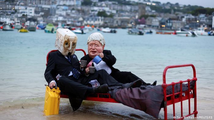 Weltspiegel 10.06.2021 | Großbritannien Cornwall vor G7 | Protest Ocean Rebellion