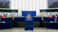 Ursula von der Leyen | EU-Parlament Sitzung am 9.6.2021