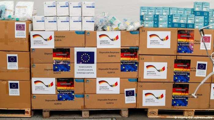 Republica Moldova Germanie donație ajutoare medicale