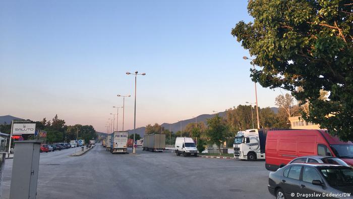 Prelaz Kulata-Promahonas - sa grčke strane