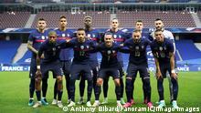 Fussball l Frankreich Nationalmannschaft, Mannschaftsbild