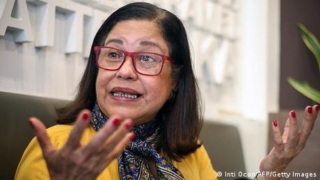 Violeta Granera, activista y opositora.