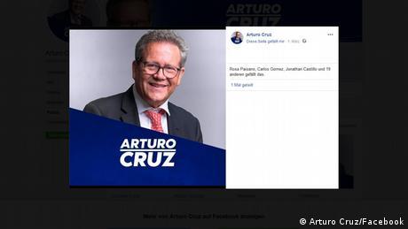 Arturo Cruz, exembajador y aspirante a la presidencia.