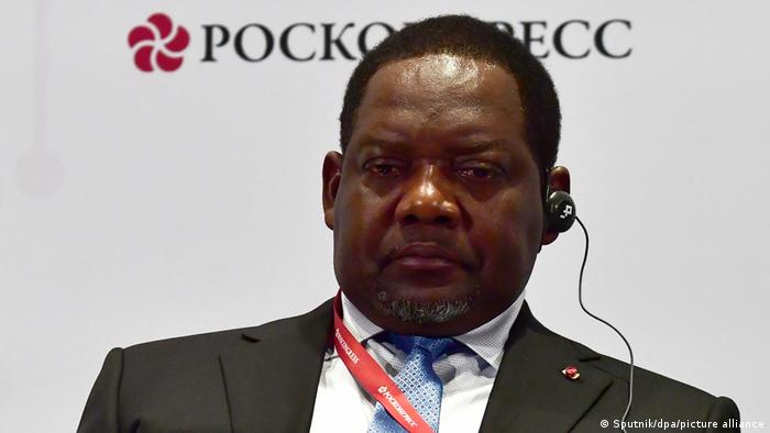Central African Republic Prime Minister Firmin Ngrebada