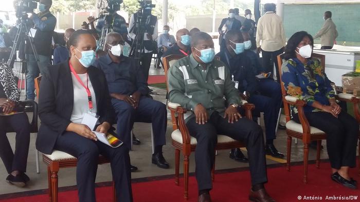 Angola l Präsident Lourenco in Bengo