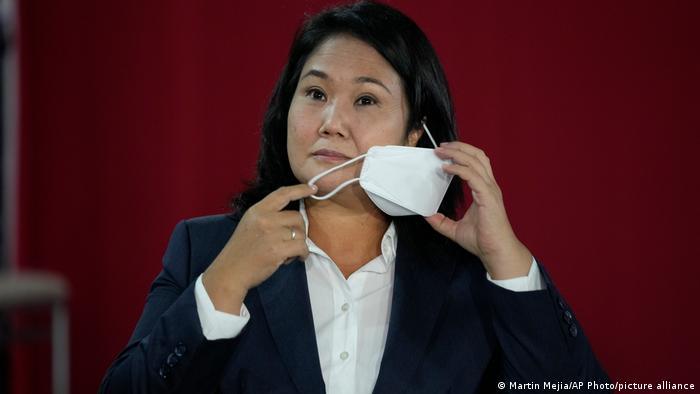 Peru Präsidentschaftskandidat Keiko Fujimori