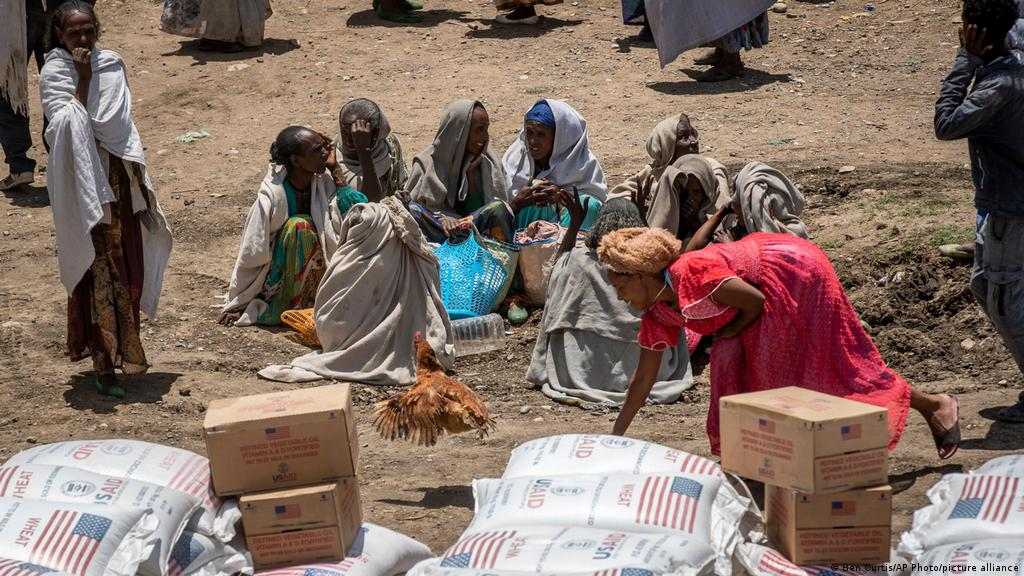 UN says 350,000 face famine in Tigray, millions in danger | News | DW |  11.06.2021