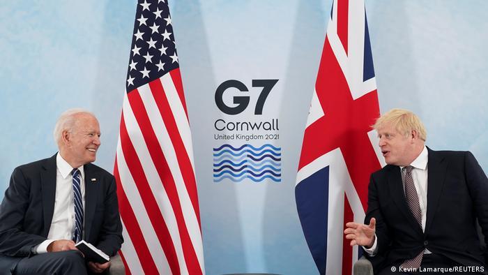 ABD Başkanı Joe Biden ve İngiltere Başbakanı Boris Johnson G7 zirvesi öncesinde telefonda görüştü.