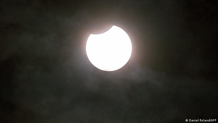 Himmel Sonne Mond l Sonnenfinsternis in Deutschland, Heidelberg