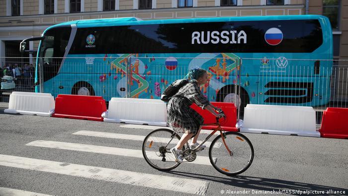 Sankt Petersburg w Rosji jest jedną z lokalizacji rozgrywek EURO 2021
