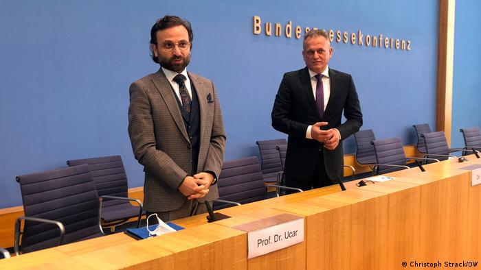 Deutschland | Präsentation Neues Islamkolleg | Bülent Ucar und Esnaf Begic