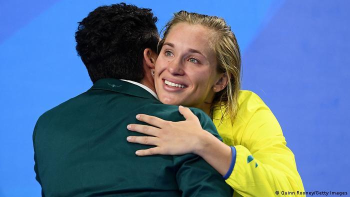 Australian swimmer Maddie Groves