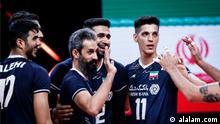 Volleyball-Nationalmannschaft von Iran beim Nationen-Cup 2021