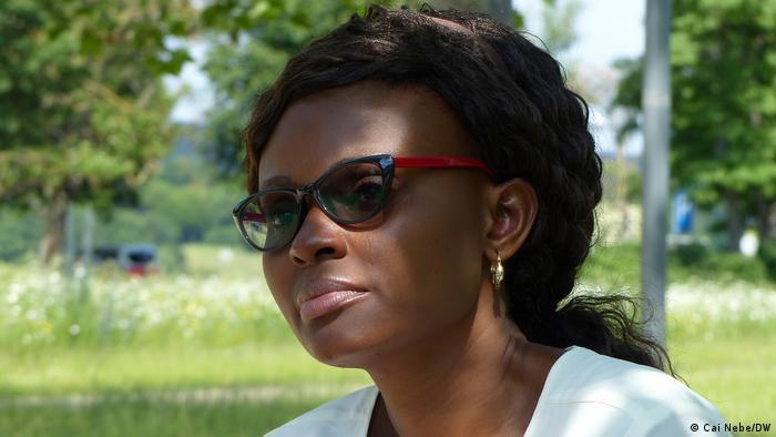 Jurnalista nigeriană de investigaţie Tobore Ovuorie, la Bonn