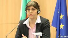 10./11.06.2021 *** EU-Staatsanwältin Laura Kövesi während ihres Besuchs in Sofia, Bulgarien. Die Fotos sind von unserem Partner BGNES