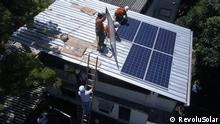 A group of local leaders in Babilonia, one of Rio de Janeiro's most famous favelas, have started an NGO which helps residents get cheaper and more environmentally friendly electricity. They have installed a solar power plant that they have built together with local people, which will provide electricity to 35 families.