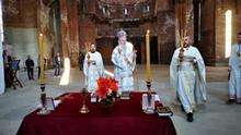 Kosovo | Liturgie Bischof Teodosije in Pristina
