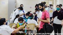 Indien Corona-Pandemie in Uttar Pradesh