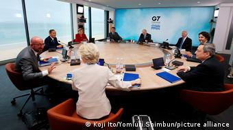 G7-Gipfel in St Ives 2021