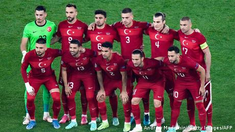 A photo of Turkey's national team