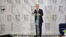 Kolumbien Ex-Präsident Santos sagt vor der Wahrheitskommission aus