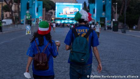 Euro 2020: Rome hoping that Italian success will lift spirits after coronavirus