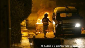 Tunesien   Tunis   Unruhen