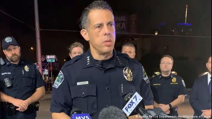 USA Schießereien über Nacht in Austin, Texas