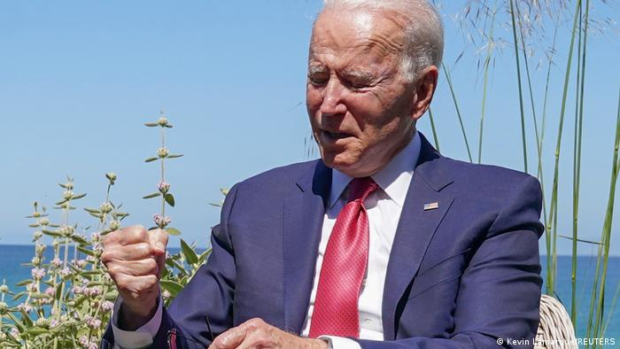 UK G7 2021 Cornwall | US Präsident Joe Biden