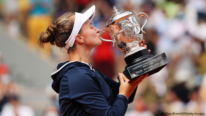 Frankreich French Open 2021 Damen Finale | Barbora Krejcikova