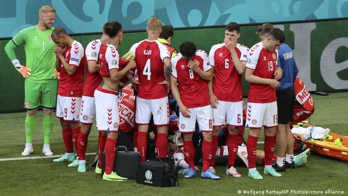 EURO 2020 | Zusammenbruch Christian Eriksen