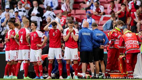 <div>Opinion: UEFA's 'play on' decision after Eriksen collapse was so very wrong</div>